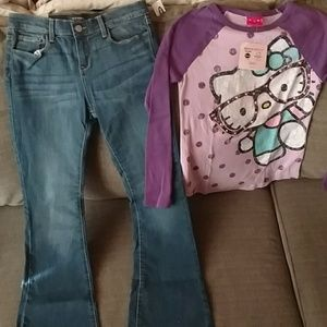 Brand new girls sz XL 14-16 outfit old Navy